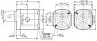 Шестеренный насос Galtech 2SP 260, фото 2