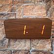 Цифровые Настольные Деревянные Часы С Подсветкой (красные цифры) (Живые фото), фото 5