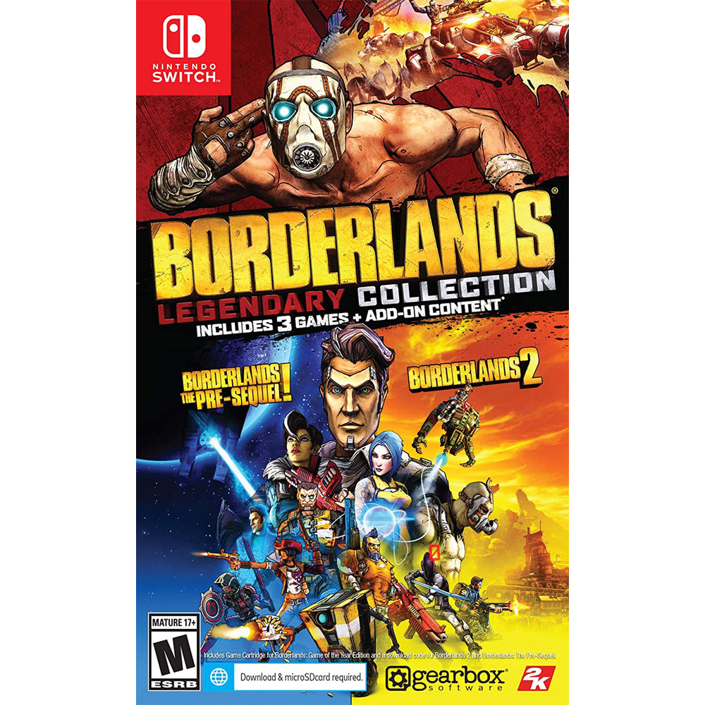 Borderlands Legendary Collection (англійська версія) Nintendo Switch