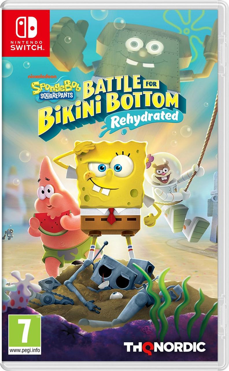 SpongeBob SquarePants: Battle for Bikini Bottom - Rehydrated (російські субтитри) Nintendo Switch