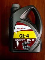 Моторное масло ЛОТОС 75W-90 GL-4 5л