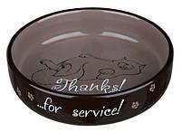 Trixie (Трикси) Ceramic Bowl for short-nosed Breeds Керамическая миска для котов коротконосых пород 300 мл
