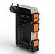 Твердопаливний котел тривалого горіння Kotlant КГ 17 кВт з електронною автоматикою та вентилятором, фото 2