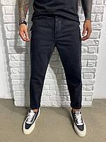 Мужские стильные джинсы MOM (чёрные) 2-Y PREMIUM