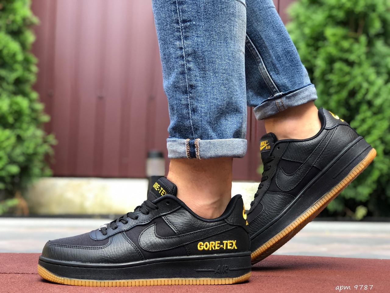 Кроссовки мужские Nike Air Force Gore-Tex. Стильные мужские кроссовки.