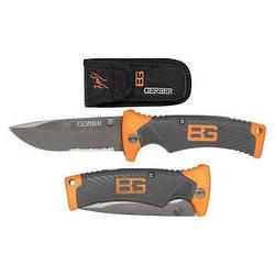 Туристический складной ножGerber Bear Grylls Folding Sheath Knife| Туристический ножик