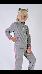 Спортивный костюм детский велюровый размеры 98-116