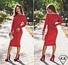 Красное платье 15528