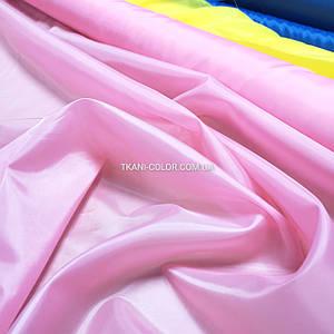 Тканина для підкладки нейлон рожевий 170Т