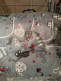 Комплект постільної білизни в дитяче ліжечко, фото 5