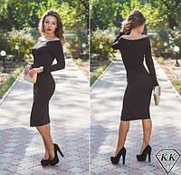Черное платье 15528