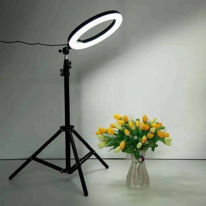 Кольцевая LED лампа 30см JY-300 + штатив