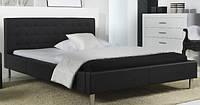 Двуспальная кровать, кровать с мягким изголовьем