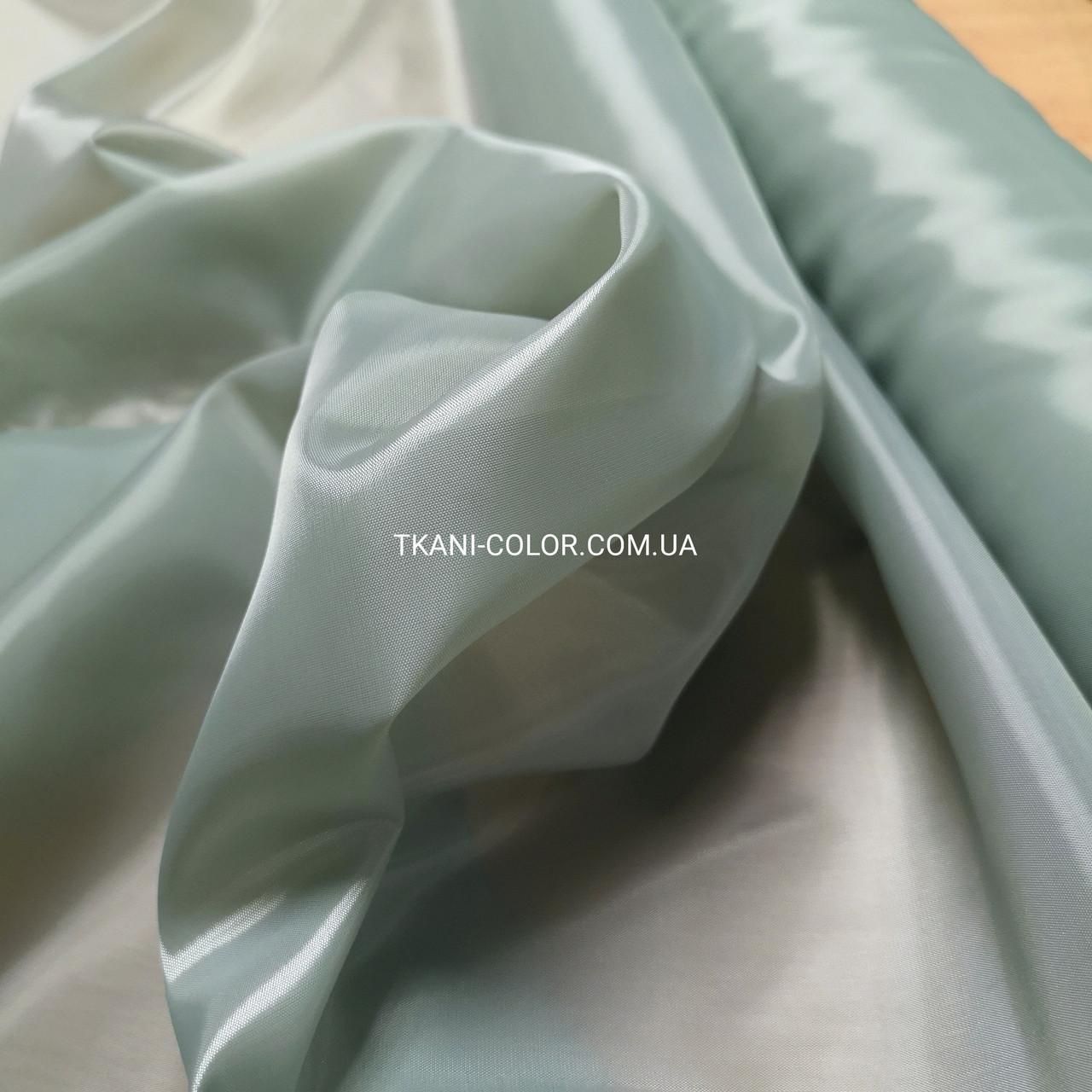 Тканина для підкладки нейлон світло-сірий 170Т