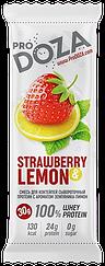 Сывороточный порционный протеин ProDOZA Земляника-Лимон (30 грамм)