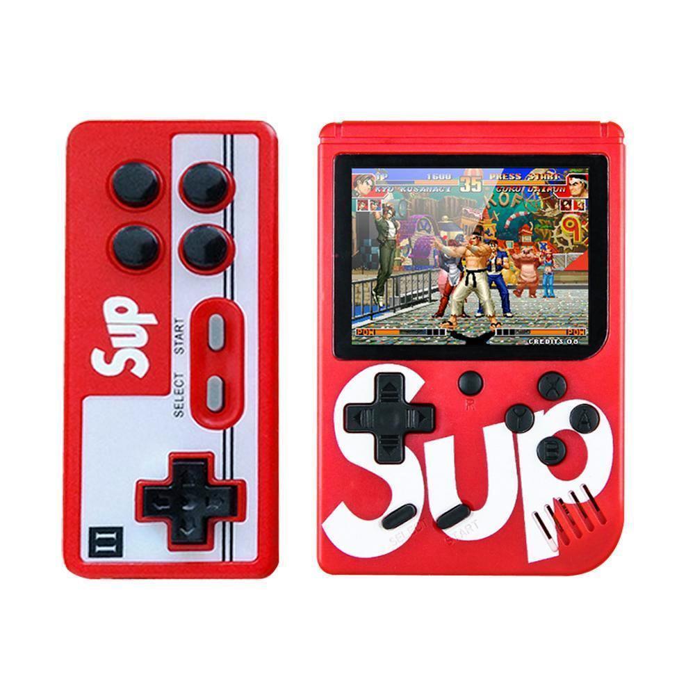 Портативная приставка Sup Game Box с джойстиком для второго игрока red