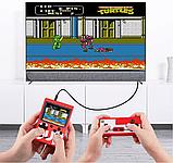 Портативная приставка Sup Game Box с джойстиком для второго игрока red, фото 2