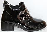 Ботинки женские кожаные от производителя модель КЛ2056, фото 2