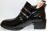 Ботинки женские кожаные от производителя модель КЛ2056, фото 3