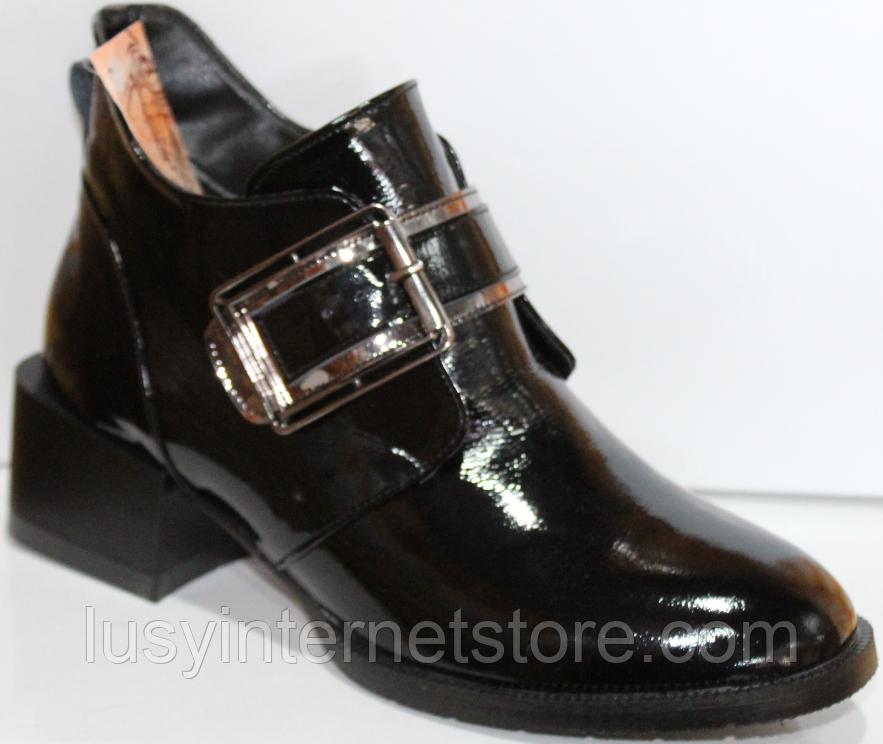Ботинки женские кожаные от производителя модель КЛ2056