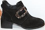 Ботинки женские кожаные от производителя модель КЛ2056, фото 5
