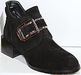 Ботинки женские кожаные от производителя модель КЛ2056, фото 6