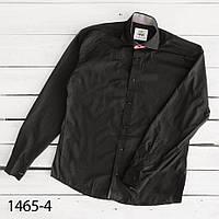 Рубашка мужская черная Afish 1465-4,Турция