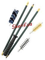 Набор для чистки оружия 12 калибр MegaLine  (шомпол стальной) MegaLine