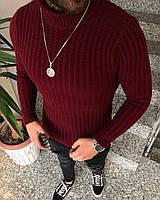 Мужской свитер с горлом