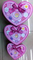 Коробка подарочная сердце 8433 продаются поштучно