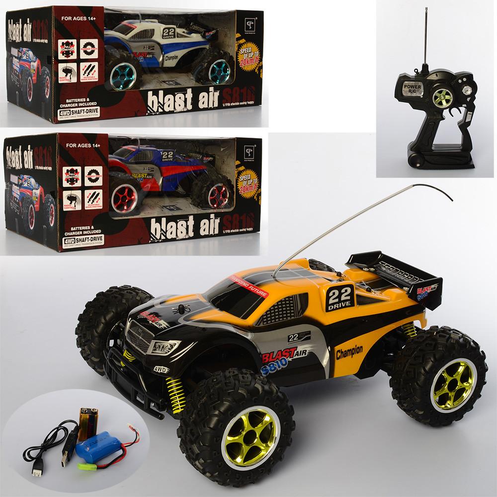 Купить Радиоуправляемые игрушки, Машина S810-FM р/у2, Bambi
