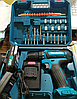 Акумуляторний шуруповерт Makita 550 DWE 2 акумулятора 24V 3A / h Li-Ion + набір - Фото