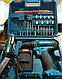 Акумуляторний шуруповерт Makita 550 DWE 2 акумулятора 24V 3A / h Li-Ion + набір, фото 2