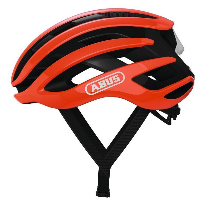 Шолом велосипедний ABUS AIRBREAKER M 52-58 Shrimp Orange