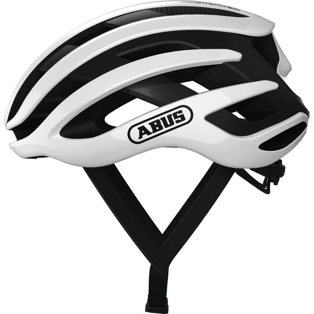 Шолом велосипедний ABUS AIRBREAKER S 51-55 Polar White