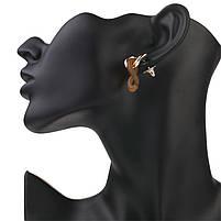 Модні жіночі сережки, фото 4
