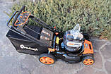 Потужня акумуляторна безщіткова газонокосарка Redback 106648 120 V  без АКБ та ЗП, фото 5