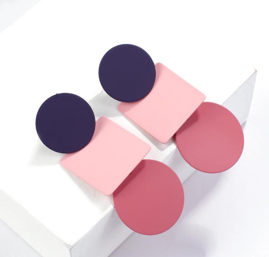 Модные серьги из полимера