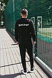 Palm Angels костюм мужской спортивный черный с капюшоном ., фото 4