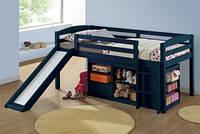 """Детская кровать """"Бамбино"""" из комбинации (лагуна,910х1930)"""