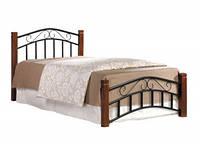 """Кровать односпальная """"Маргарет"""" (каштан,90*200)"""