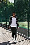 Palm Angels костюм мужской спортивный черный с капюшоном ., фото 2