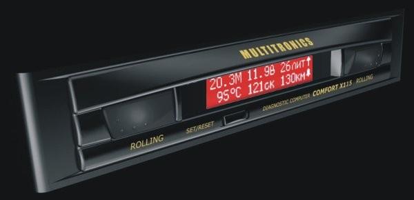 Бортовой компьютер Multitronics  X-115