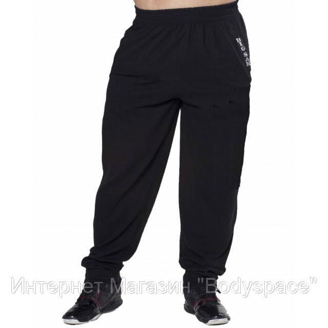 Big Sam, Штаны спортивные зауженные Mens Baggy Track Classic Body Pants Black 901