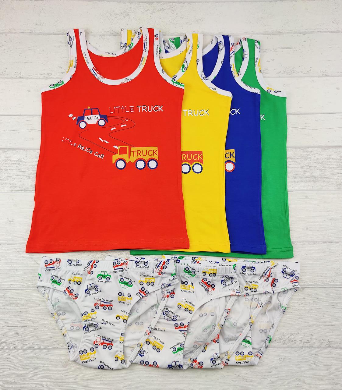 Комплект белья: 5-6лет для мальчиков  655816127125