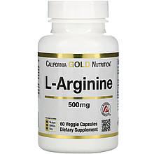 Аминокислота L-ARGININE 500 mg 60 капсул