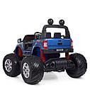 Двомісний дитячий електромобіль джип Ford Ranger Monster Truck M 4273ELS-4(24V), фото 3