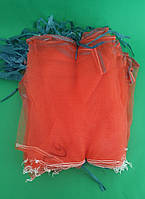 Сетка мешок для овощей на 5 кг красная (р25х39), 50 шт/уп
