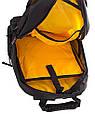 Мужской рюкзак с отделением для ноутбука ONEPOLAR (ВАНПОЛАР),  черный, 40 л.,W1077-2, фото 7