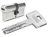 Цилиндр ABUS  X12R Compact  80 (40*40) Ni ключ-ключ ,5 кл.,никель, фото 1